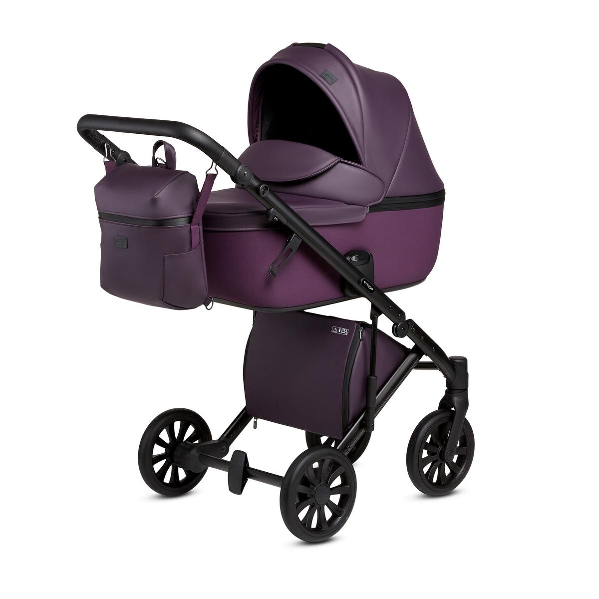 Детская Коляска ANEX e/type 3 в 1 (Фиолетовый)