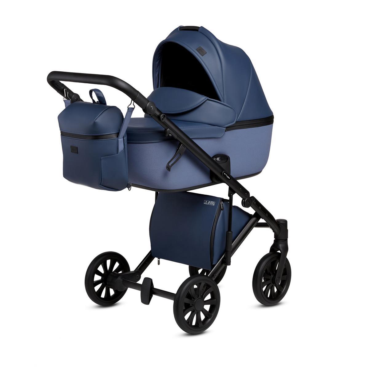 Детская Коляска ANEX e/type 3 в 1 (Синий/голубой)