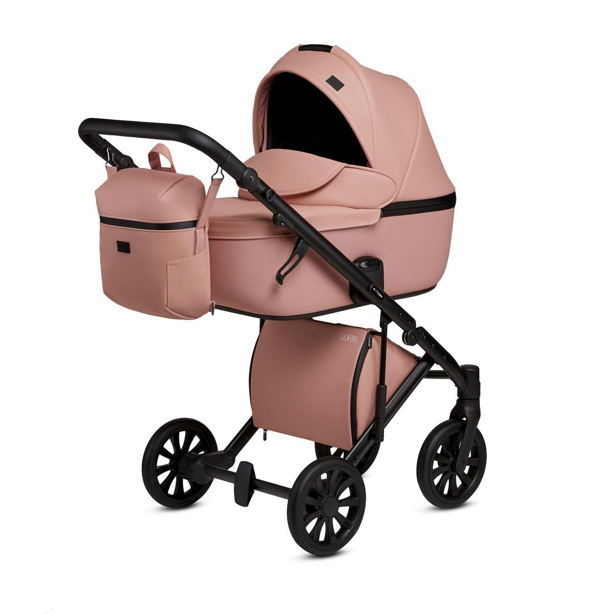 Детская Коляска ANEX e/type 3 в 1 (Розовый)