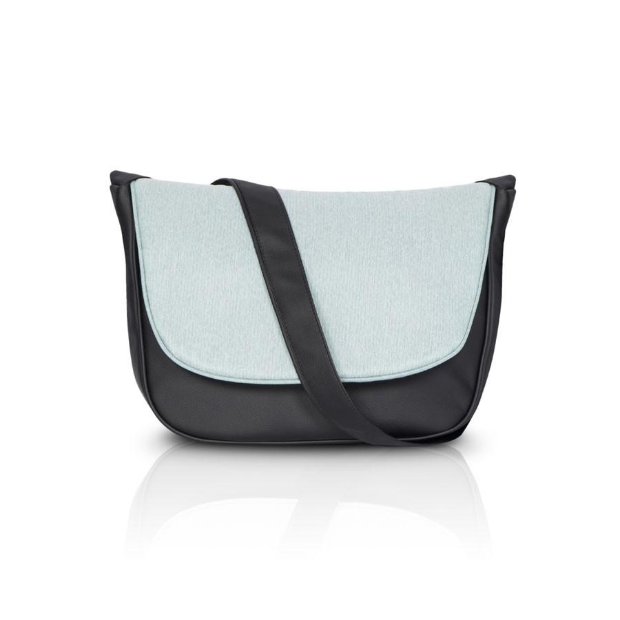 Коляска Riko Basic Vest 2 в 1 Mint / (Голубой/черный)