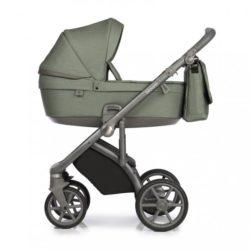 Детская коляска Roan Bloom 2 в 1 New 2020 (Зеленый) Green Dots