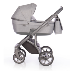 Детская коляска Roan Bloom 3 в 1 New 2021 (Серый) Grey Dots