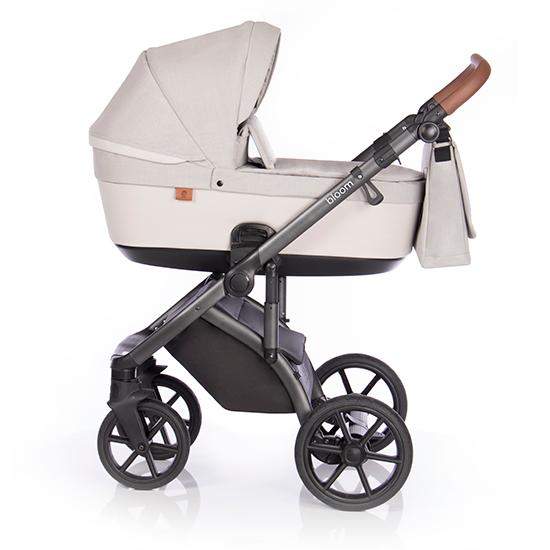 Детская коляска Roan Bloom 2 в 1 Ivory / (Белый/бежевый)