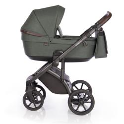 Детская коляска Roan Bloom 3 в 1 New 2021 (Зеленый) Night Green