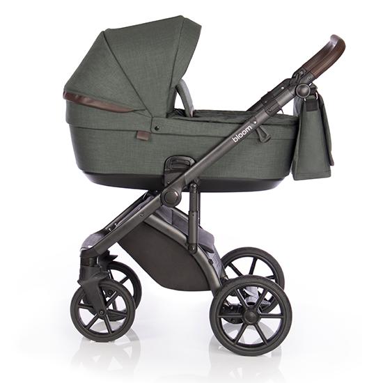 Детская коляска Roan Bloom 3 в 1 Night Green / (Темно-зеленый)