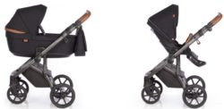 Детская коляска Roan Bloom 3 в 1 New 2021 (Черный) Night Trip