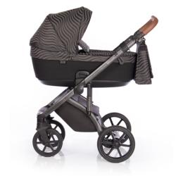 Детская коляска Roan Bloom 3 в 1 New 2021 (Черный) Oxida
