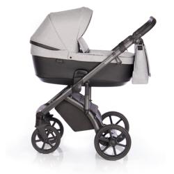 Детская коляска Roan Bloom 2 в 1 New 2020 (Серый) Silver Chevron
