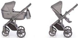 Детская коляска Roan Bloom 3 в 1 New 2020 (Бежевый) Steel
