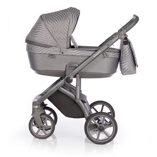 Детская коляска Roan Bloom 2 в 1 New 2020 (Бежевый) Steel