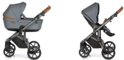 Детская коляска Roan Bloom 2 в 1 New 2020 (Синий) Blue Dots
