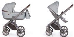 Детская коляска Roan Bloom 2 в 1 New 2021 (Голубой) Cloud Blue