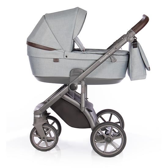 Детская коляска Roan Bloom 3 в 1 New 2021 (Голубой) Cloud Blue