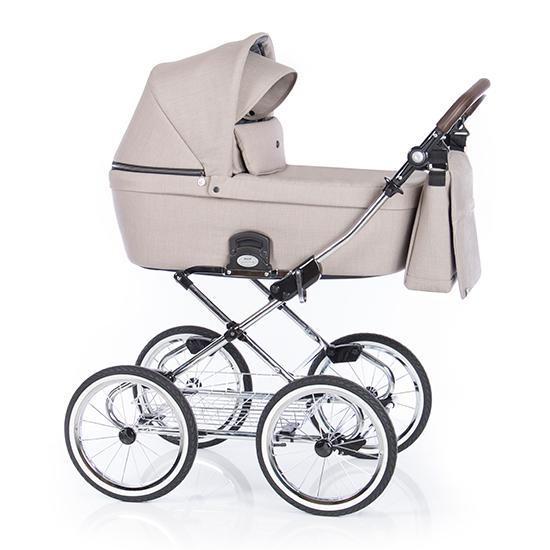 Детская коляска люлька Roan Coss Classic (Beige)/(Бежевый)