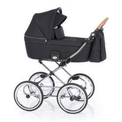 Детская коляска 2 в 1 Roan Coss Classic (Черный) Black