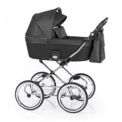 Детская коляска 2 в 1 Roan Coss Classic (Серый) Dark Glow