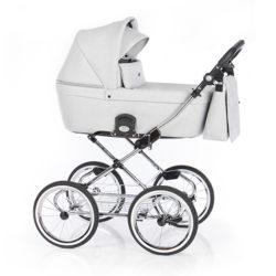 Детская коляска 2 в 1 Roan Coss Classic (Cерый) Grey