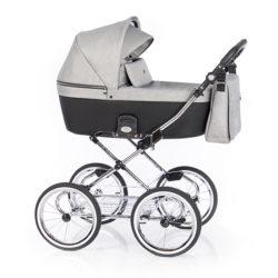 Детская коляска 2 в 1 Roan Coss Classic (Серый) Grey Glow