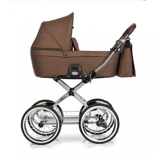 Детская коляска люлька Roan Coss Classic (Mocca)/(Коричневый)