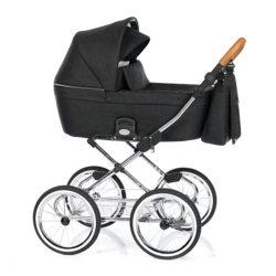Детская коляска 2 в 1 Roan Coss Classic (Черный) Night Trip