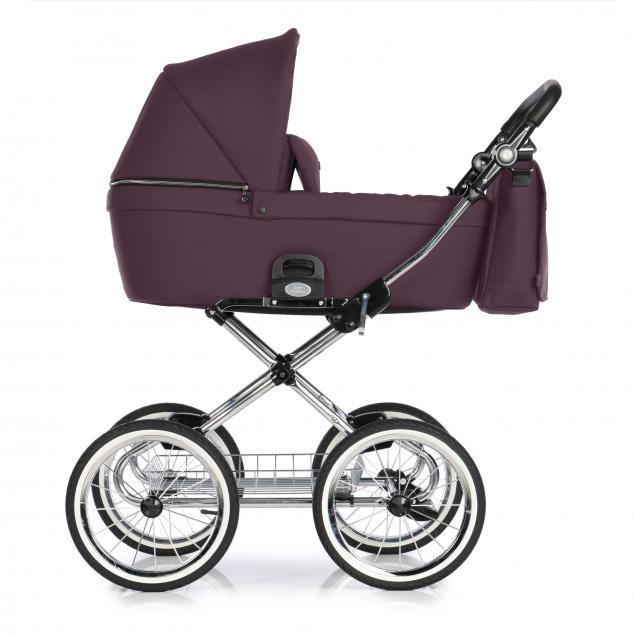 Детская коляска люлька Roan Coss Classic (Plum)/(Фиолетовый)