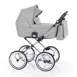 Детская коляска 2 в 1 Roan Coss Classic (Серый) Titanium