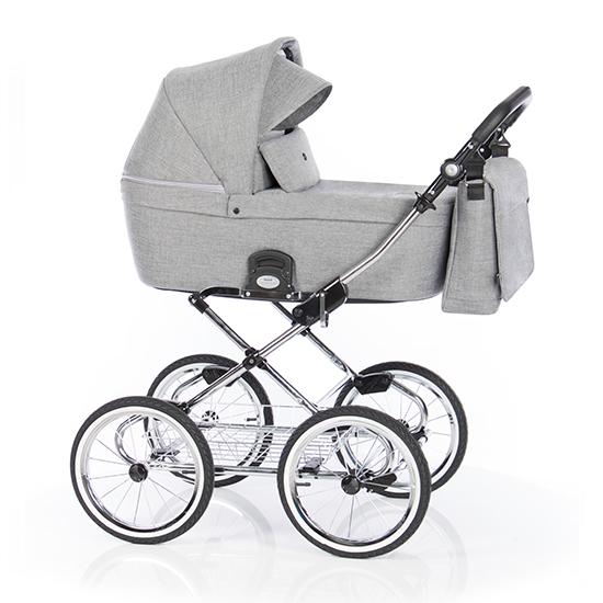 Детская коляска люлька Roan Coss Classic (Titanium)/(Серый)