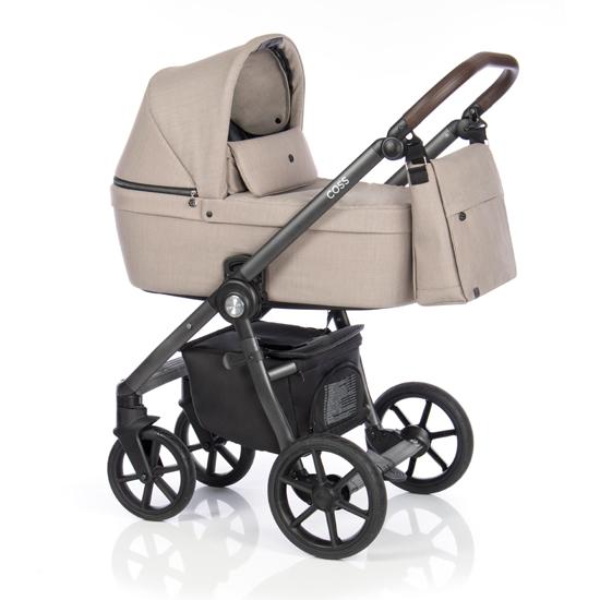 Детская коляска Roan Coss 3 в 1 New 2020 Beige (Бежевый)