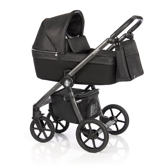 Детская коляска Roan Coss 2 в 1 New 2020 Dark Glow (Черный)