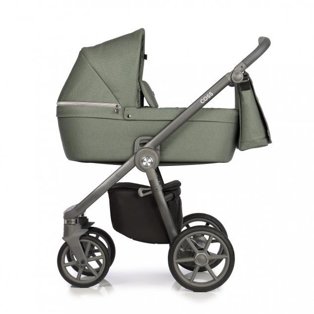 Детская коляска Roan Coss 2 в 1 (Green Dots)/(Зеленый)