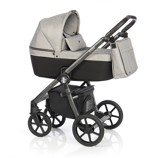 Детская коляска Roan Coss 2 в 1 New 2020 Grey Glow (Серый)