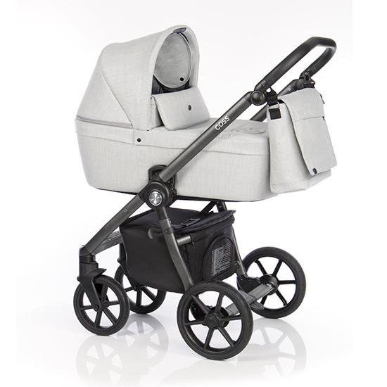 Детская коляска Roan Coss 2 в 1 New 2020 Grey (Cерый)