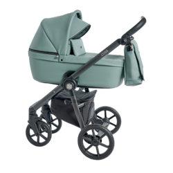 Детская коляска Roan Coss 3 в 1 эко-кожа (Misty Mint)/(Бирюзовый)