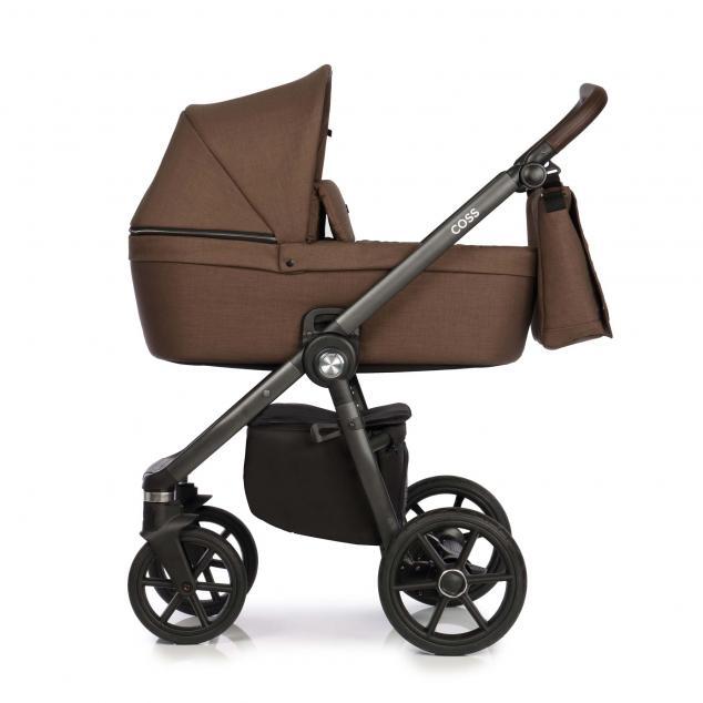 Детская коляска Roan Coss 3 в 1 New 2021 Mocca (Коричневый)