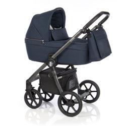 Детская коляска Roan Coss 3 в 1 (Navy)/(Темно-синий)
