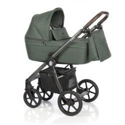 Детская коляска Roan Coss 3 в 1 (Night Green)/(Темно-зеленый)