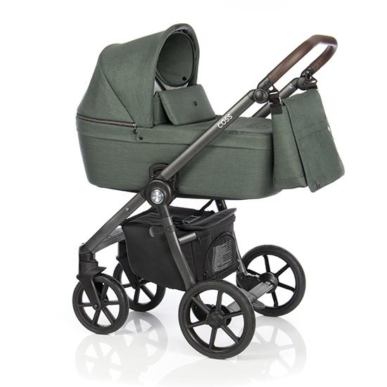 Детская коляска Roan Coss 2 в 1 (Night Green)/(Темно-зеленый)