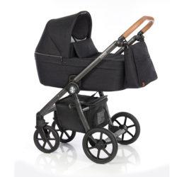 Детская коляска Roan Coss 3 в 1 (Night Trip)/(Черный)