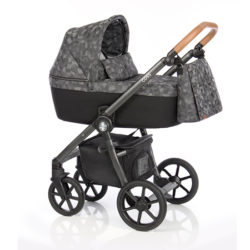 Детская коляска Roan Coss 3 в 1 (Onyx)/(Серо-черный)