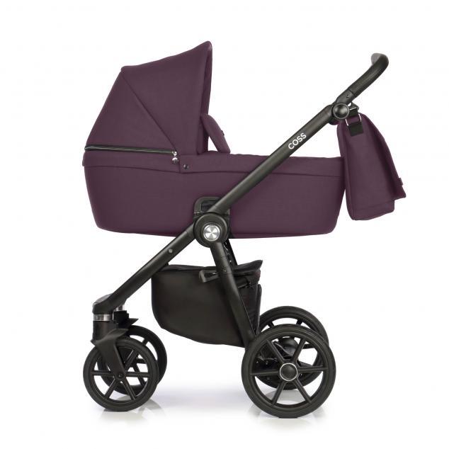 Детская коляска Roan Coss 3 в 1 New 2021 Plum (Фиолетовый)