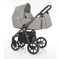 Детская коляска Roan Coss 3 в 1 (Titanium)/(Серый)