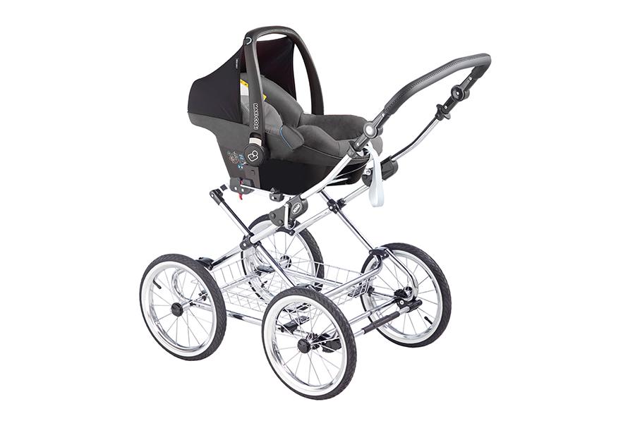 Детская коляска 3 в 1 Roan Emma (Серый/Бежевый)