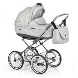 Детская коляска 3 в 1 Roan Emma (Светло-серый)
