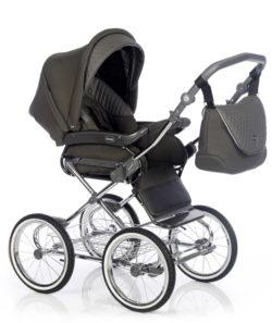 Детская коляска 3 в 1 Roan Emma (Хаки)
