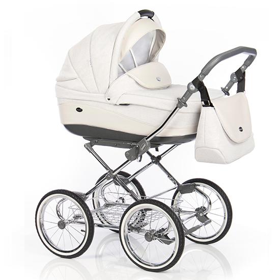 Детская коляска 3 в 1 Roan Emma (Розовый/Бежевый)