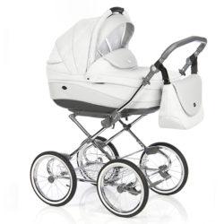 Детская коляска 3 в 1 Roan Emma (Серо-белый)
