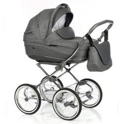 Детская коляска 3 в 1 Roan Emma (Темный Серый)