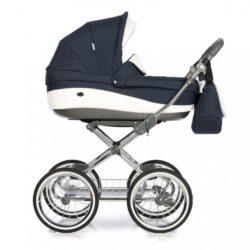 Детская коляска 3 в 1 Roan Emma (Синий/Белый)
