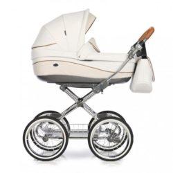 Детская коляска 3 в 1 Roan Emma (Белый/Бежевый)