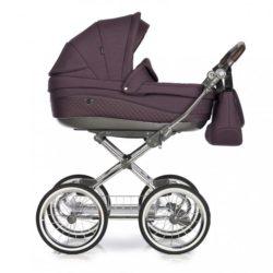 Детская коляска 3 в 1 Roan Emma (Темный фиолетовый)